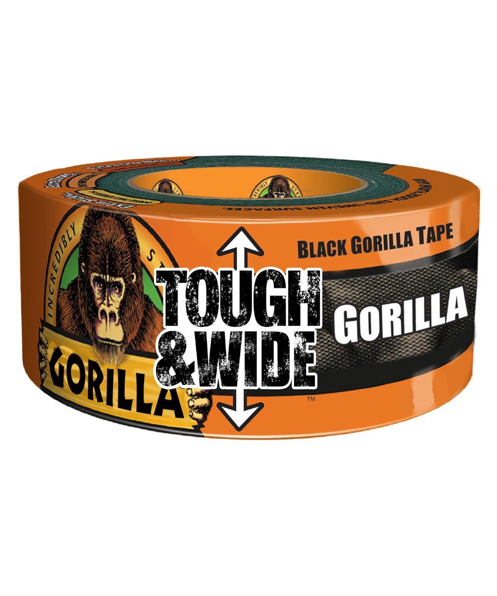 Black Gorilla Tape, 2.88 in. x 30 yd.