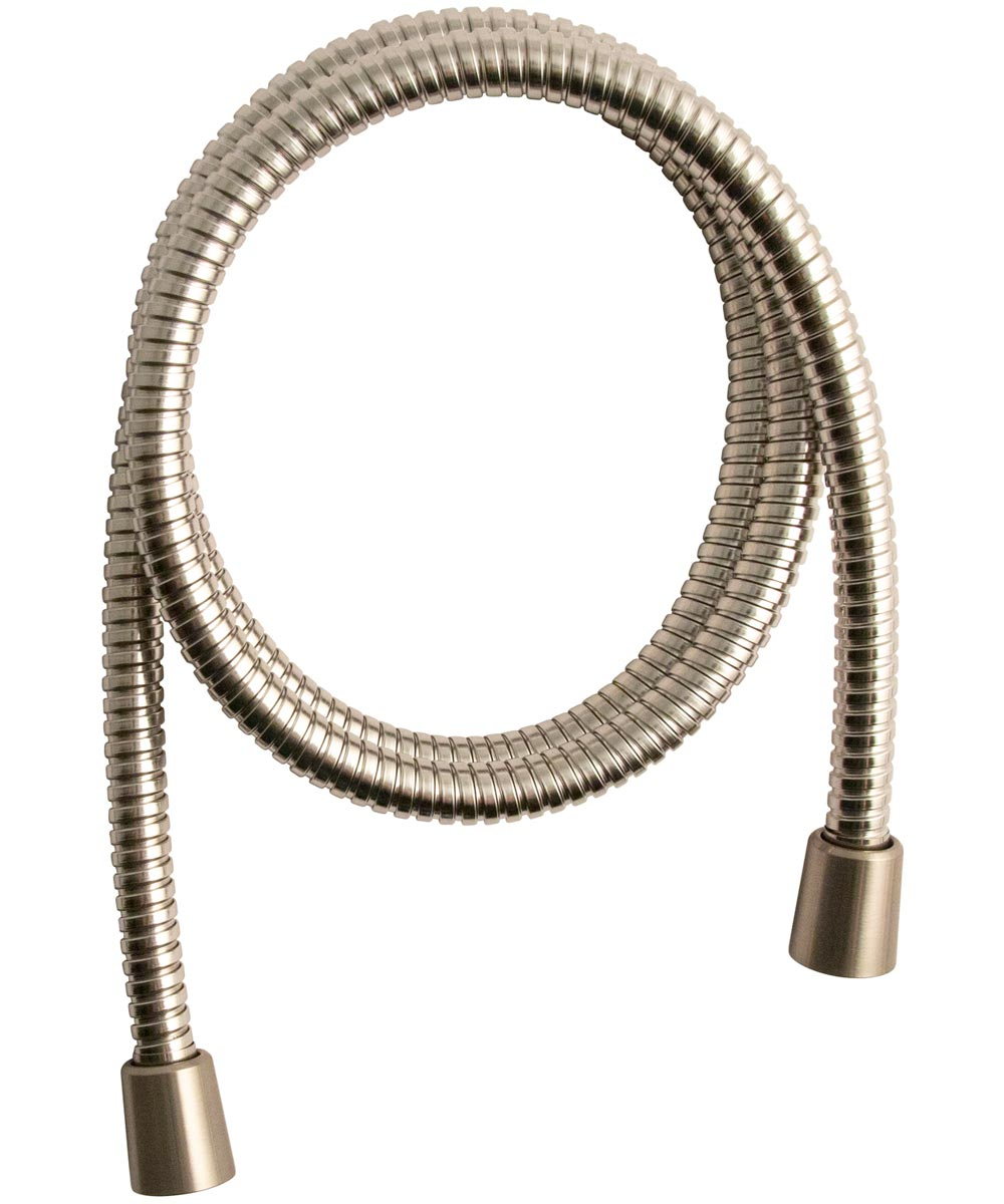 Waxman 4 in. Brushed Nickel Serene 6-Spray Handheld Shower Head