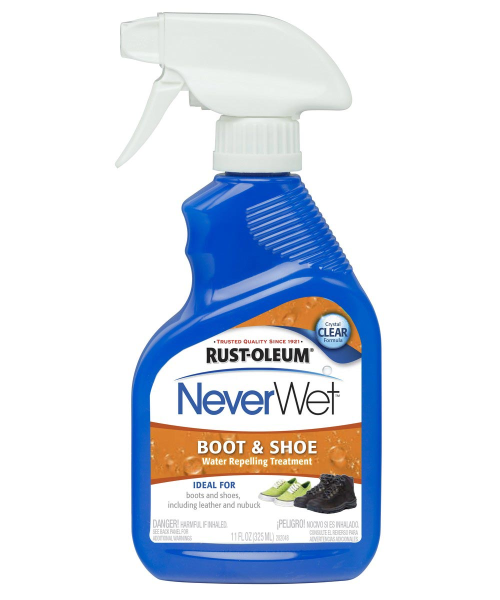 NeverWet Boot & Shoe Water Repelling Treatment, 11 oz Spray