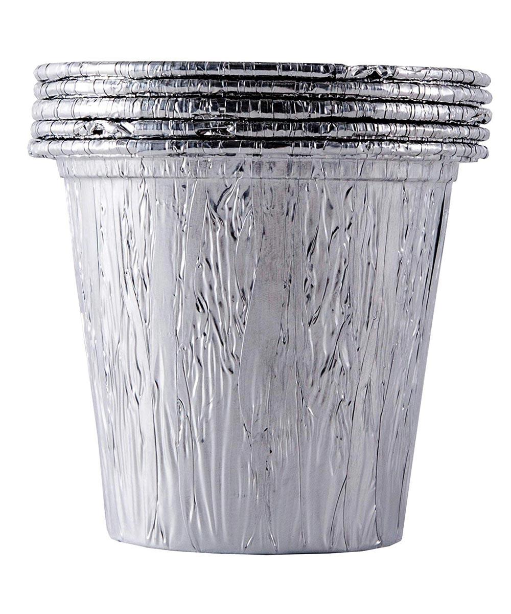 Disposable Drip Bucket Aluminum Liner for Larger Traeger Pellet Grills, 5 Pack