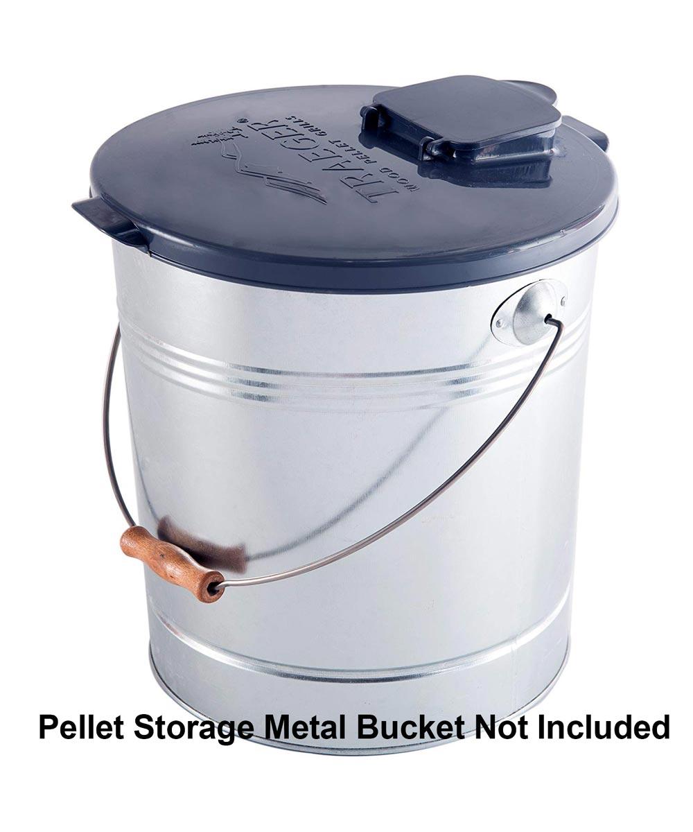 Pellet Storage Lid & Filter Kit for 5-Gallon Buckets