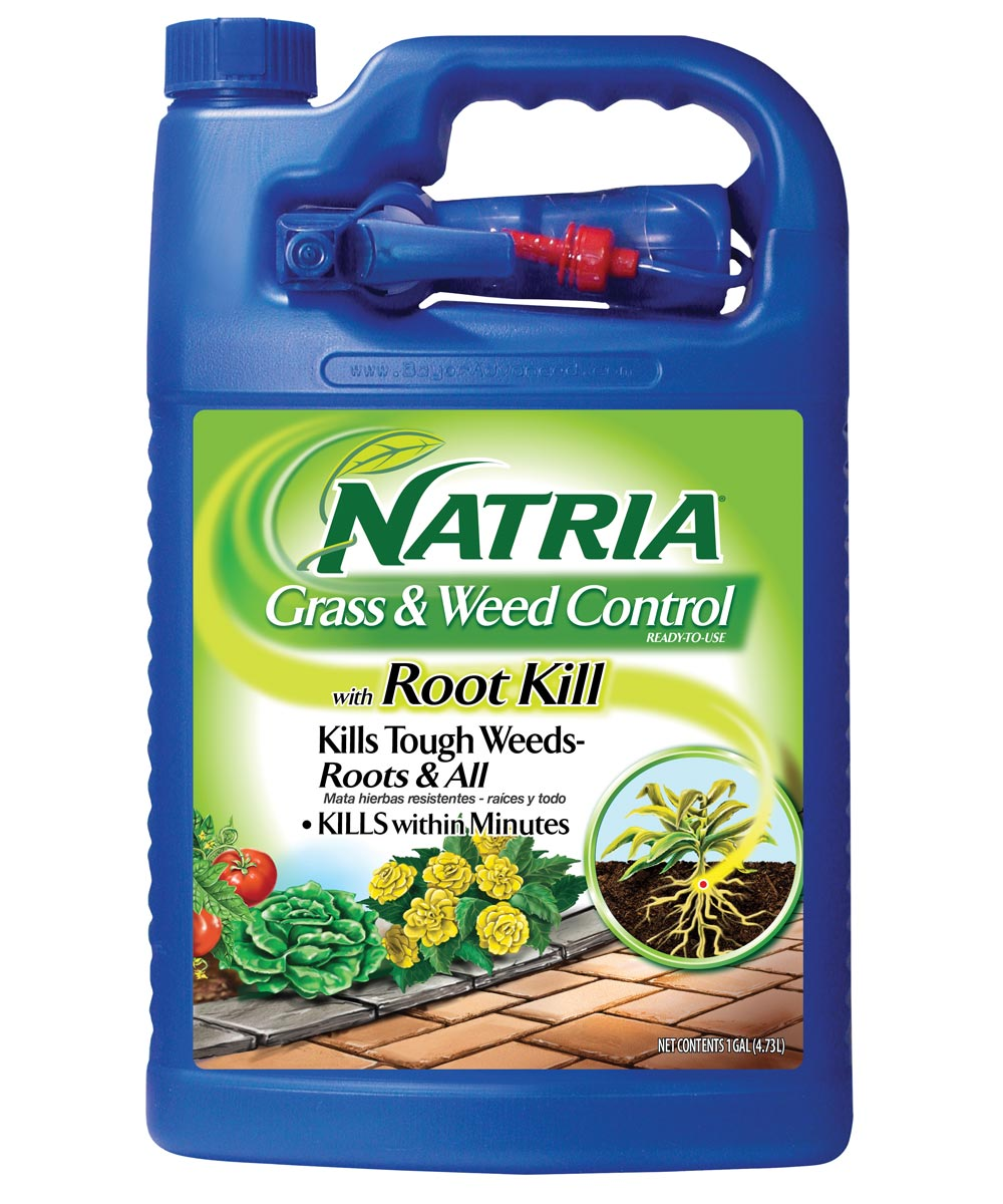Natria Grass & Weed Control with Root Kill Ready-to-Use, 1 Gallon