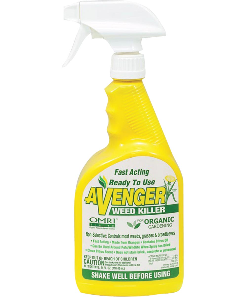 Avenger Organic Weed Killer Ready-to-Use, 24 oz.