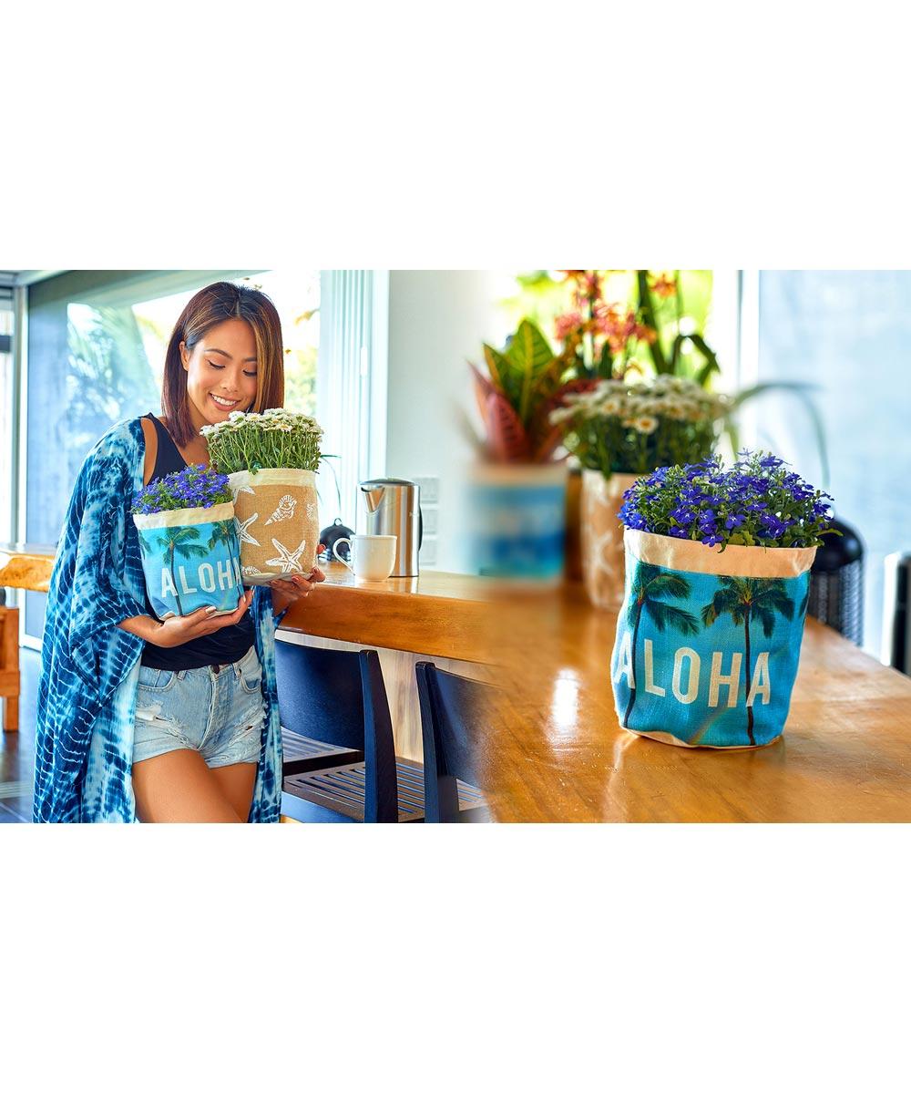 Plant Pouch, Starfish Design