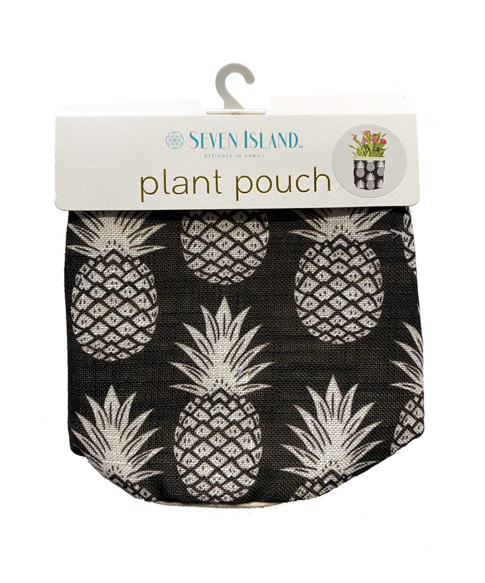Plant Pouch, Pineapple Design