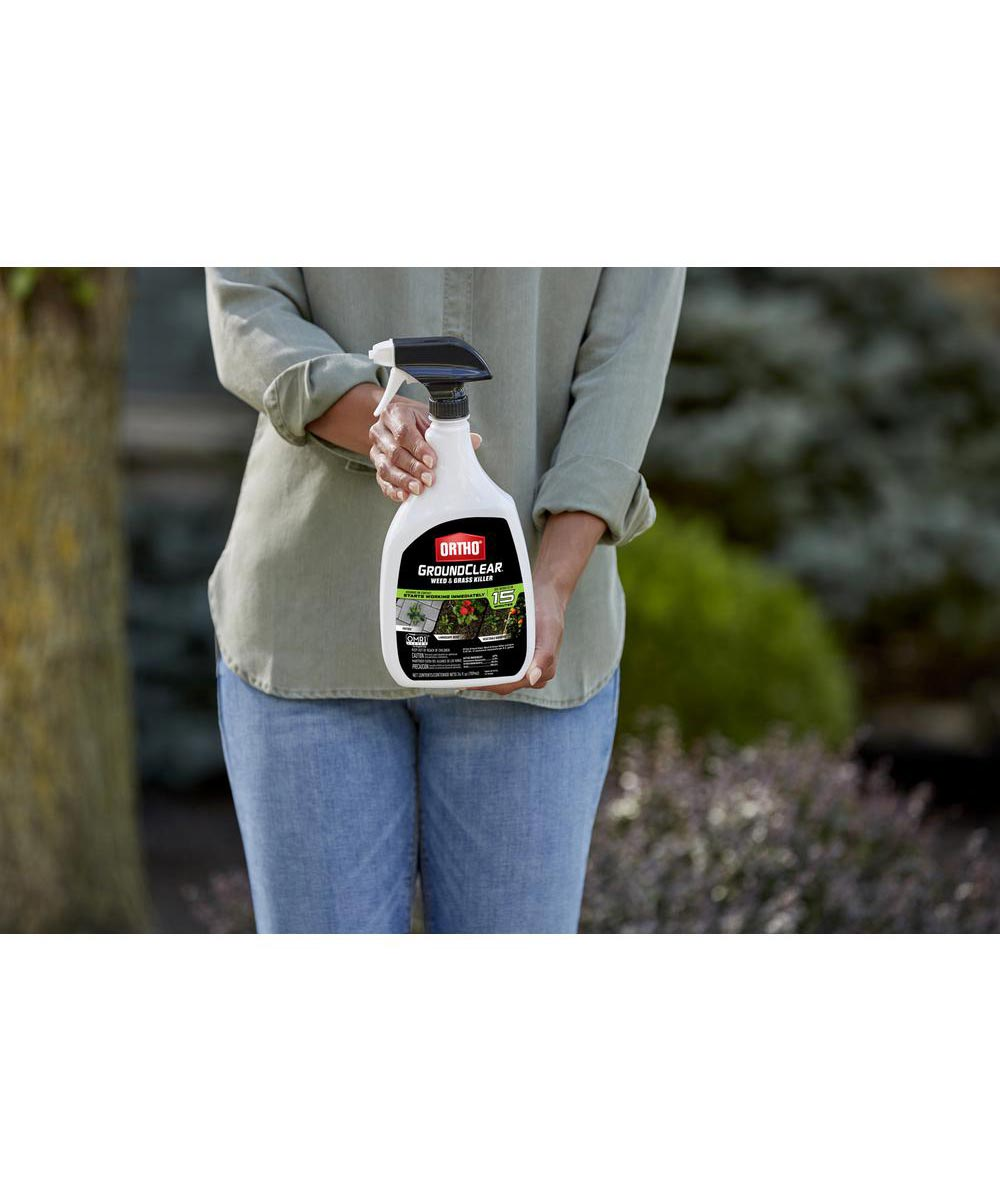 Ortho GroundClear Weed & Grass Killer Ready-To-Use, 24 oz.