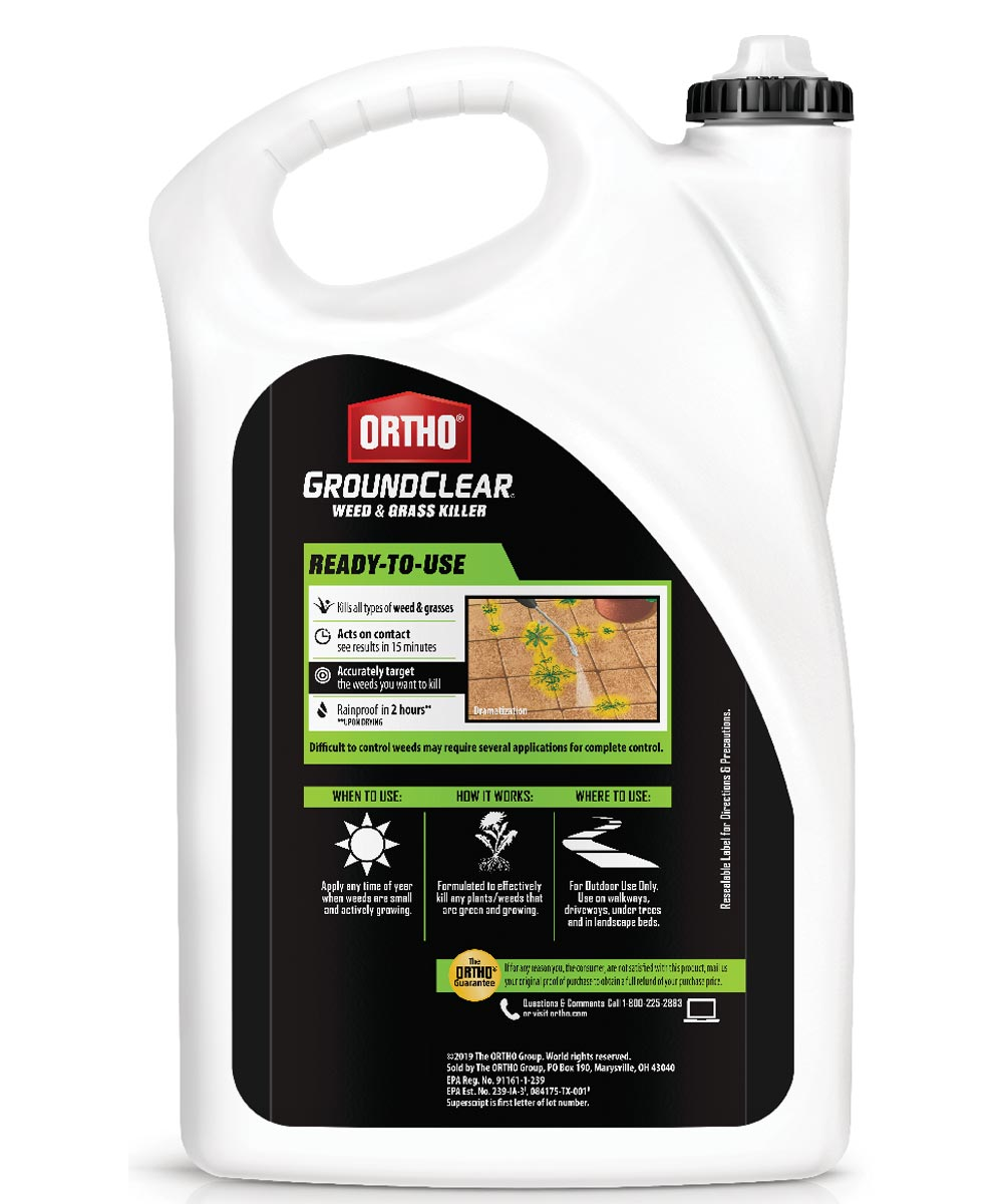 Ortho Groundclear Weed & Grass Killer, 1 Gallon REFILL