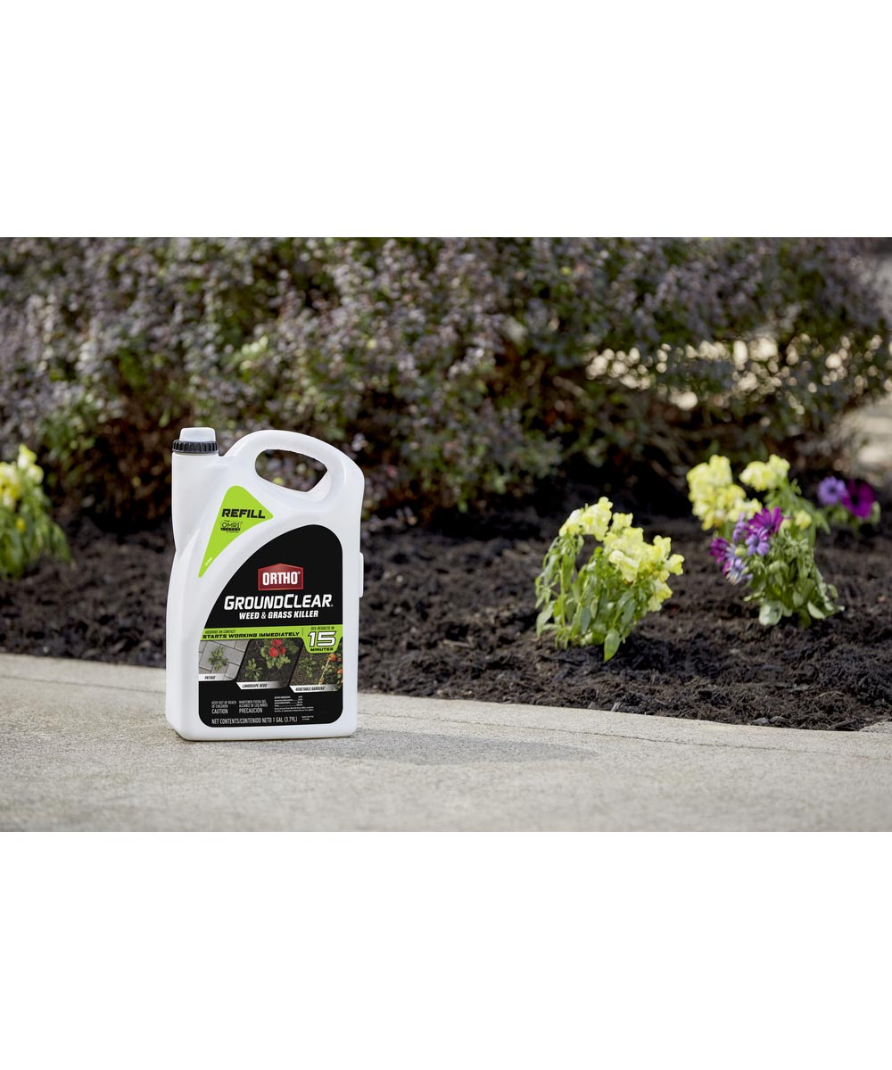 Ortho GroundClear Weed & Grass Killer REFILL, 1 Gallon