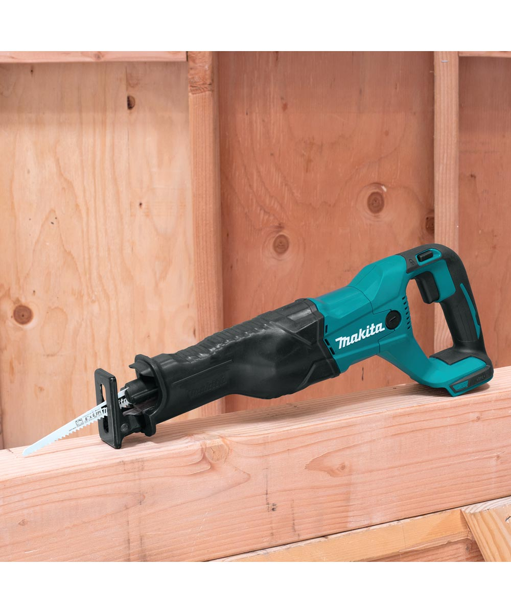 Makita 18V LXT Lithium‑Ion Cordless Reciprocating Saw, Tool Only (No Battery or Charger)