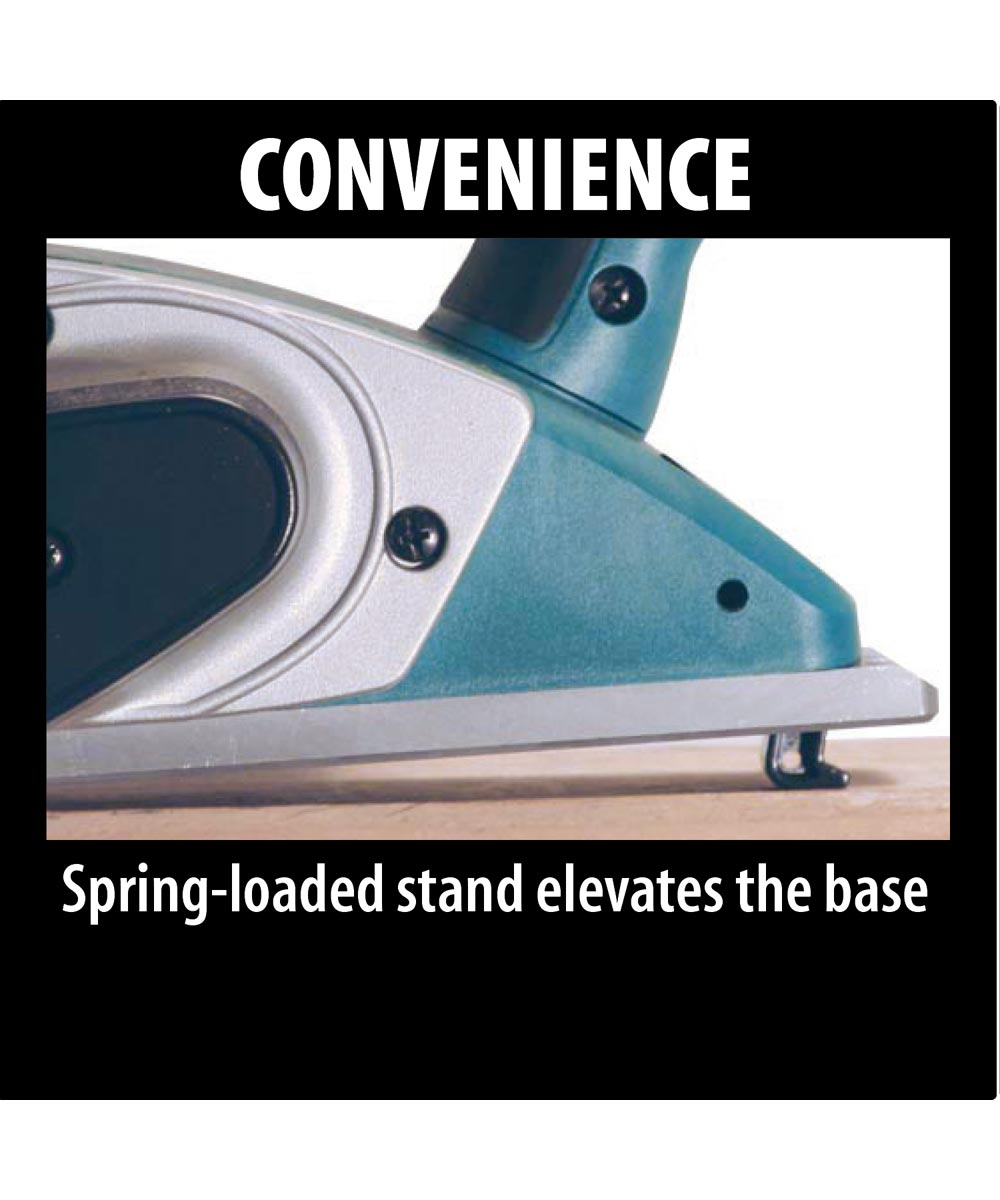 Makita Corded 3‑1/4 in. 6.5 Amp Planer with Case