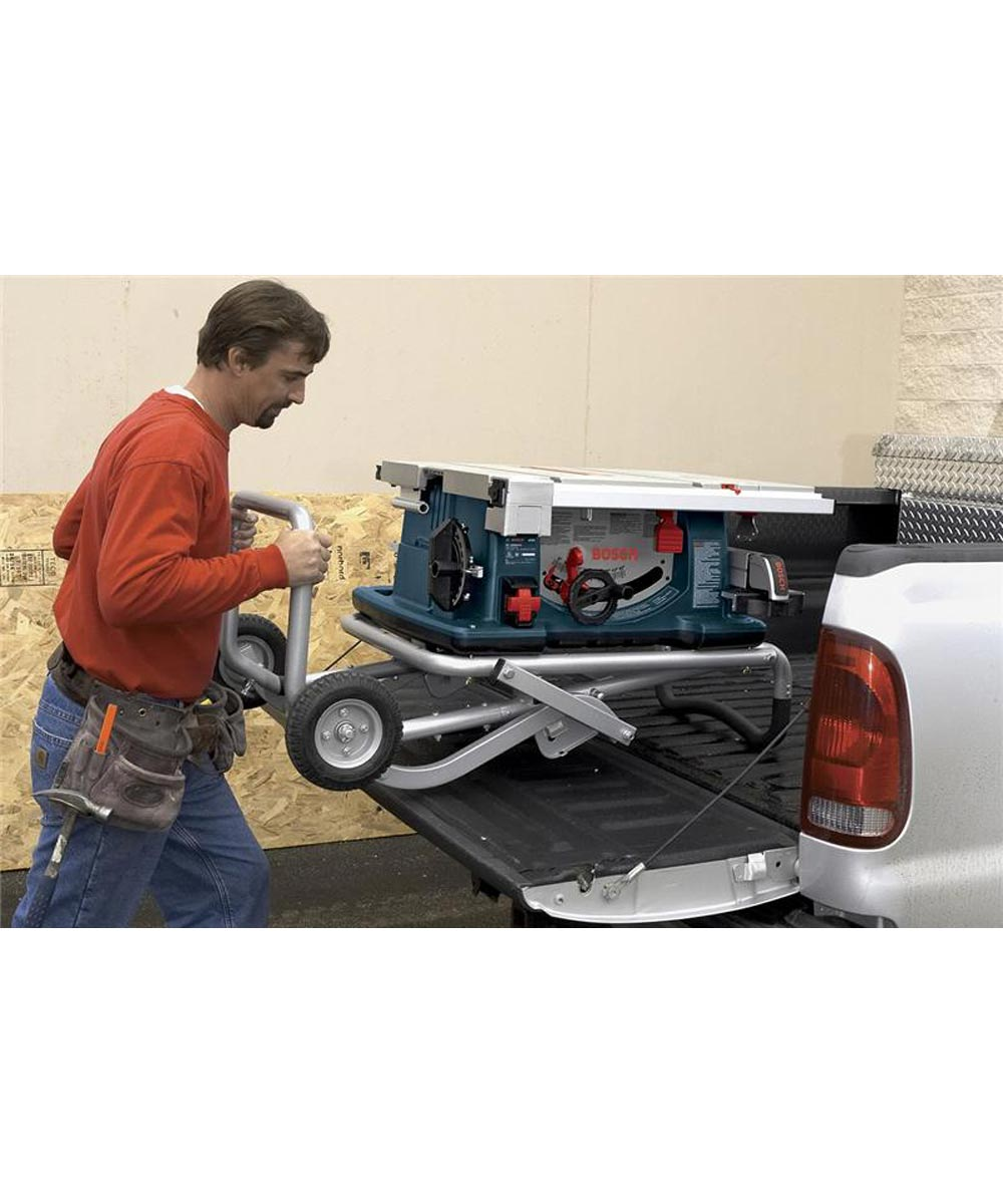 Bosch 10 in. Worksite Table Saw with Gravity-Rise Wheeled Stand