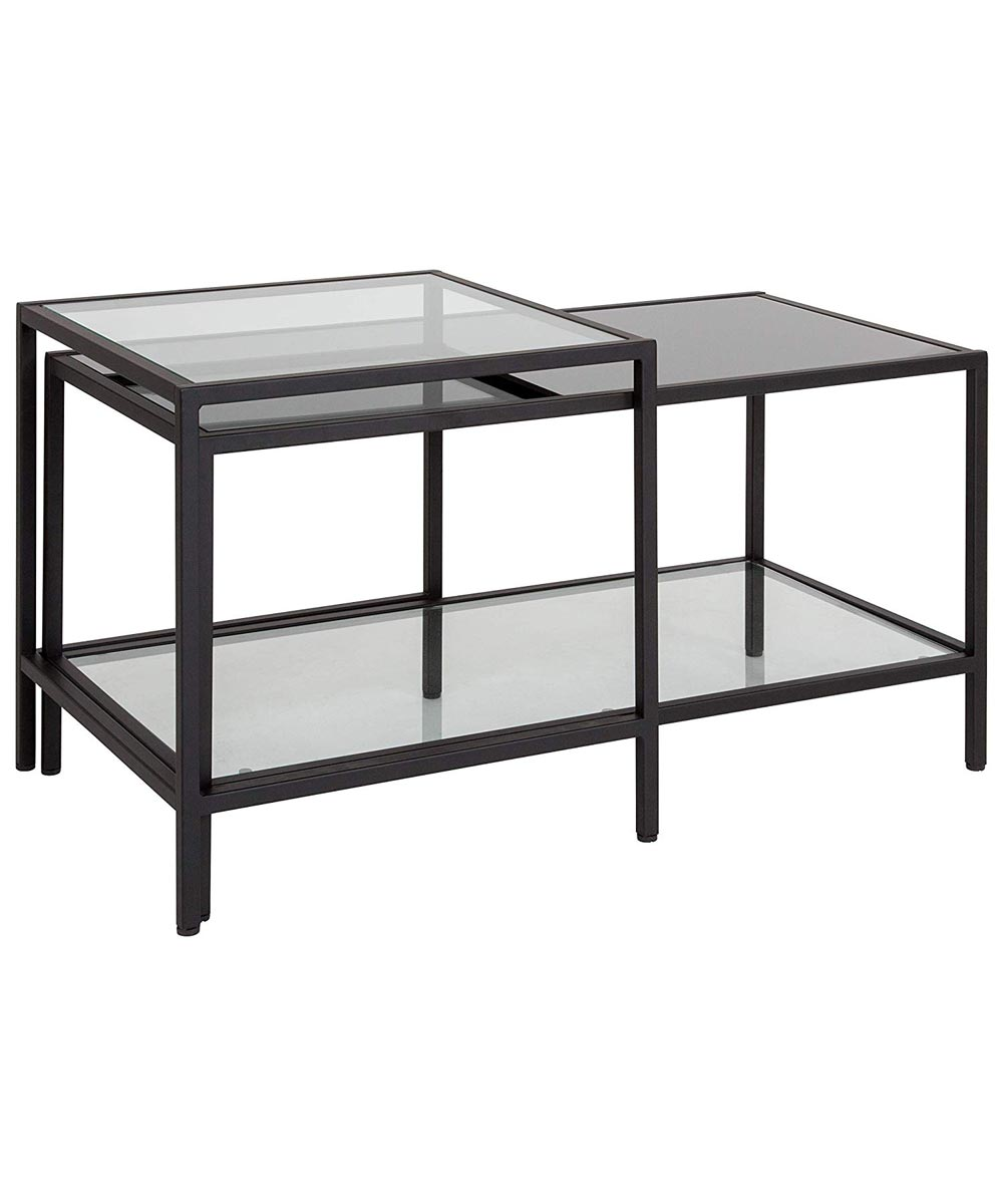 Multi Tiered Gl Coffee Table With