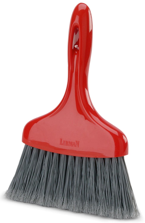 Libman Whisk Broom, Red & Black