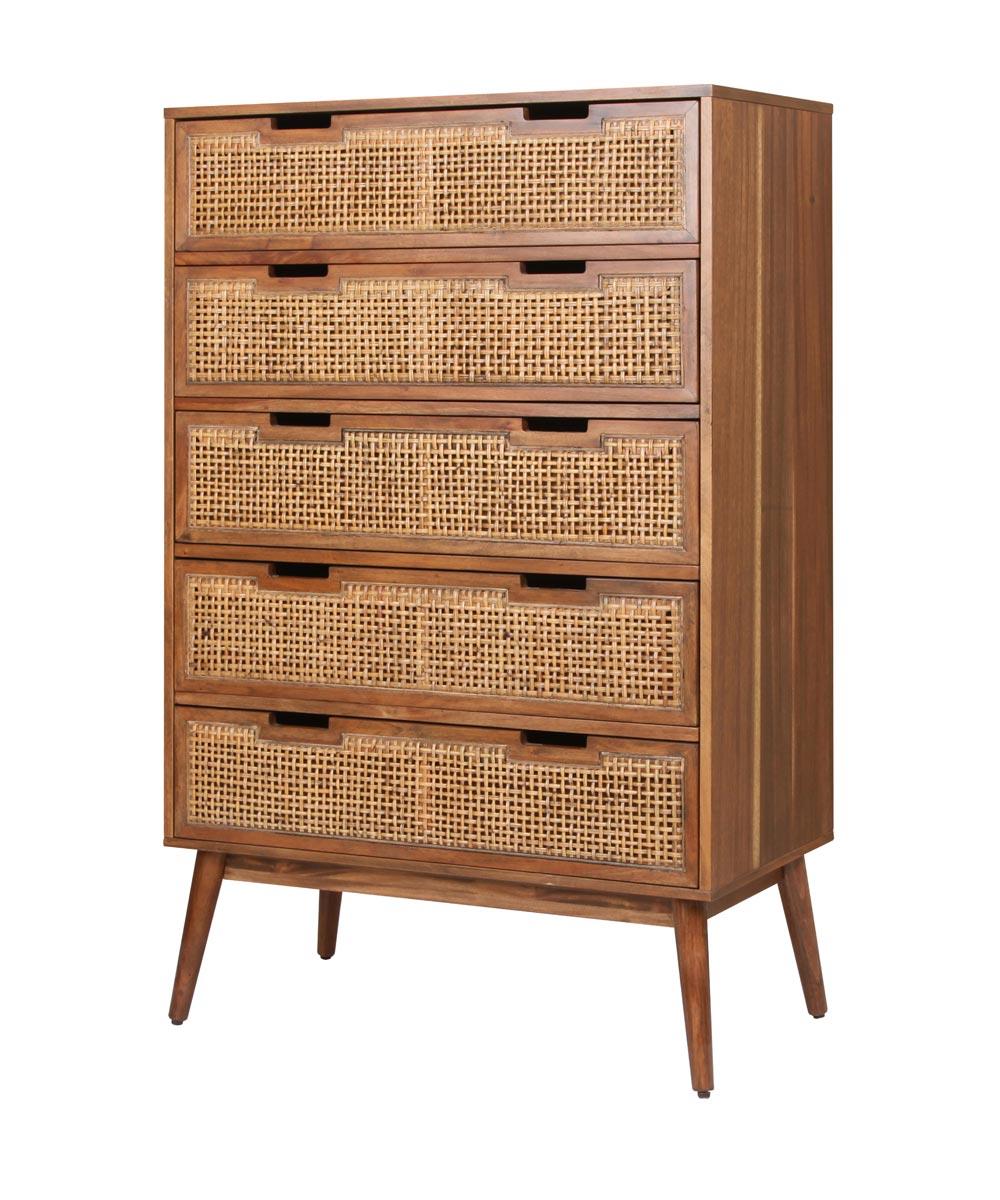 Havana 5 Drawer Dresser Chest