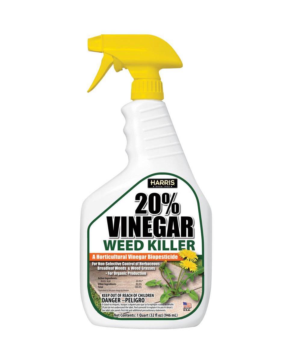 Harris 20% Vinegar Weed Killer, 32 oz. Ready-to-Use Spray