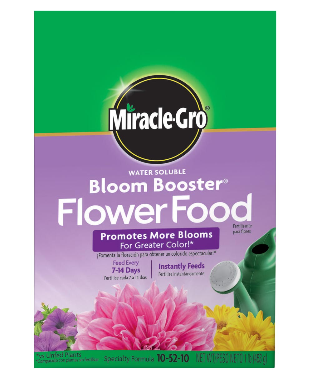 Miracle-Gro 1 lb. Bloom Booster Flower Food, 10-52-10