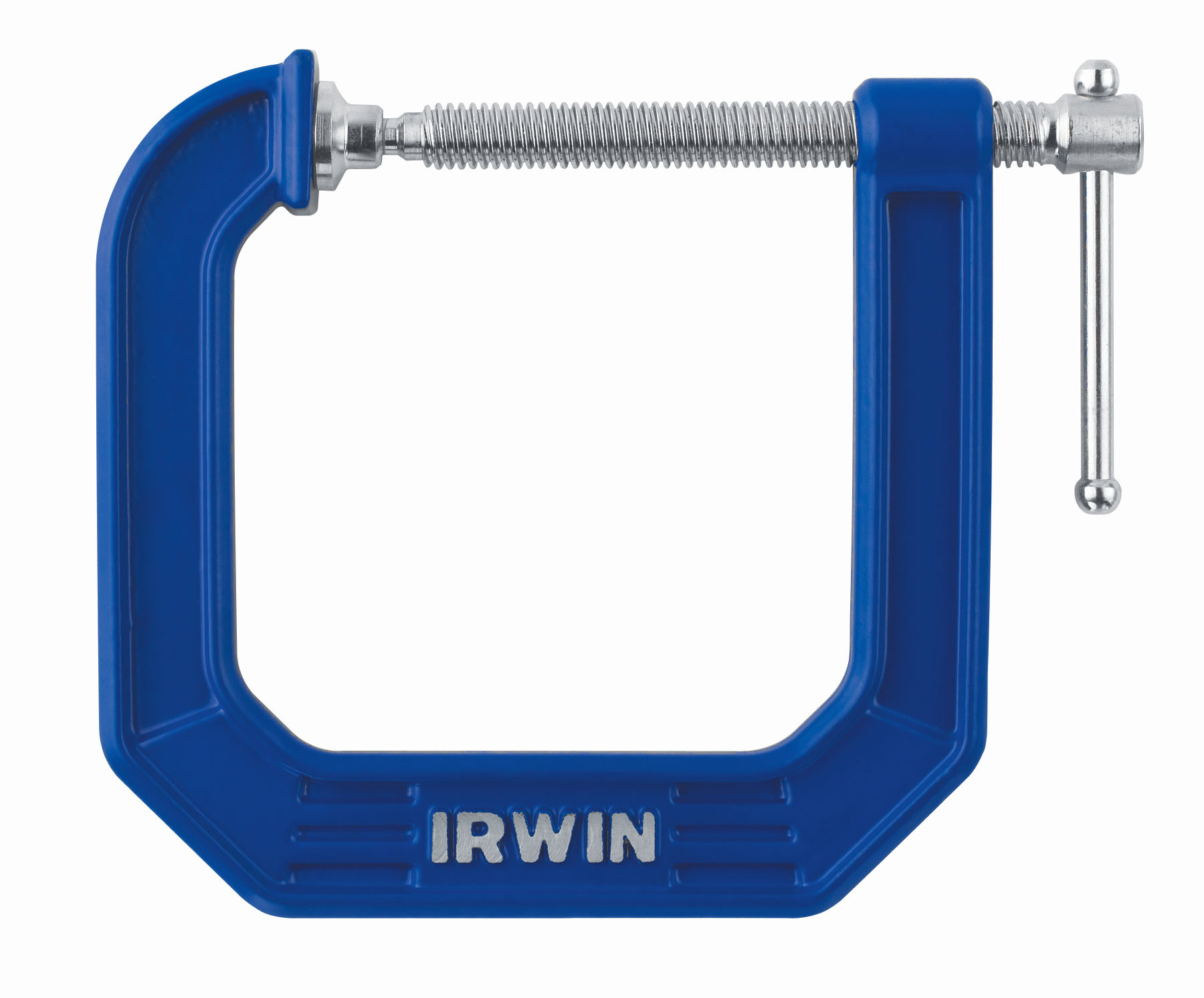 Irwin 3 in. Blue Deep Throat 100 Series C-Clamp