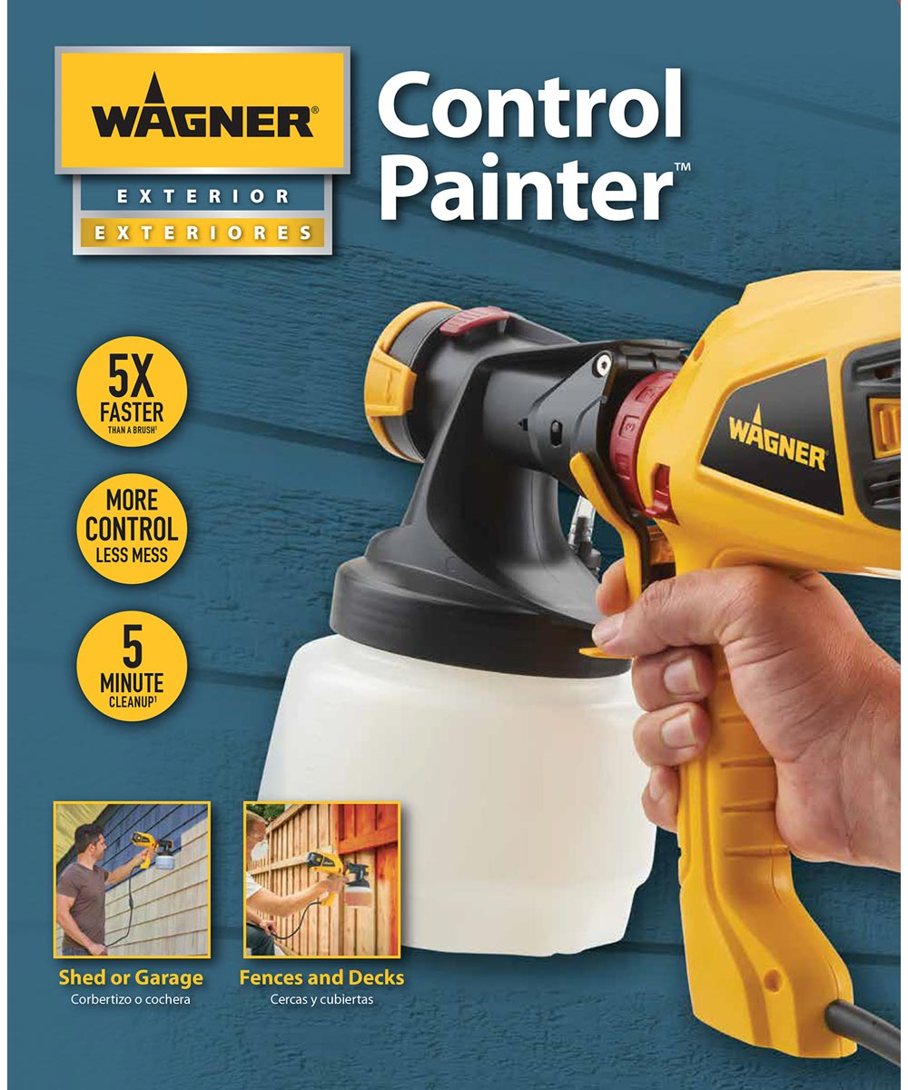 Wagner Control Painter Handheld Paint Sprayer