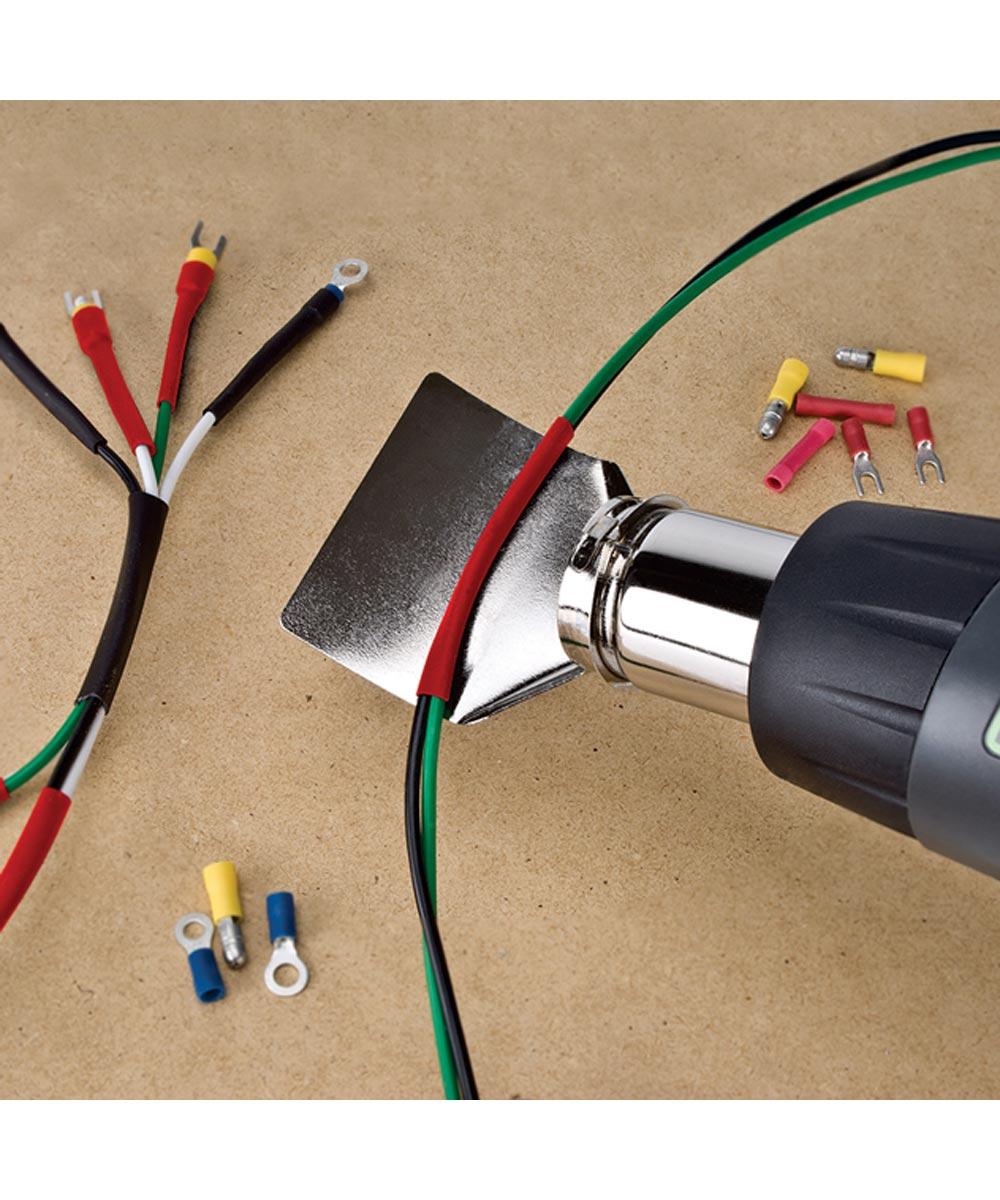 Genesis 12.5 Amp Dual Temp Heat Gun with Nozzles