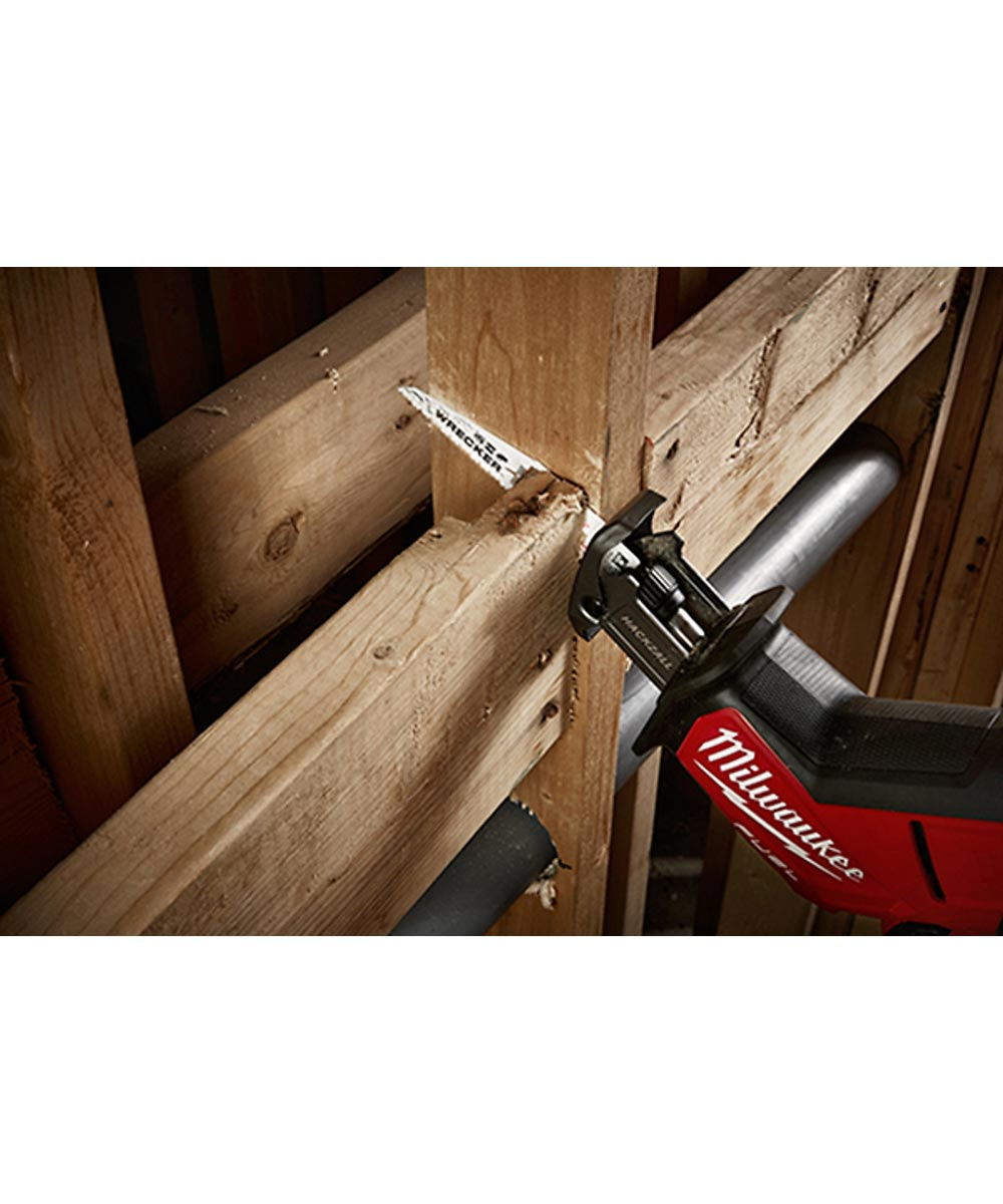 Milwaukee 9 in. 7/11TPI The WRECKER Multi-Material SAWZALL Reciprocating Saw Blades, 5 Pack