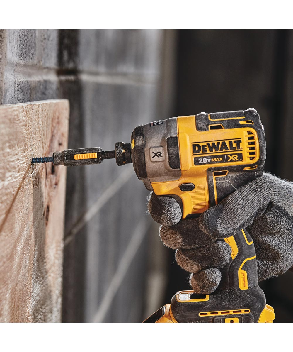 DEWALT 20V MAX* XR Brushless Cordless 1/4 in. 3-Speed Impact Driver, Tool Only (No Battery or Charger)