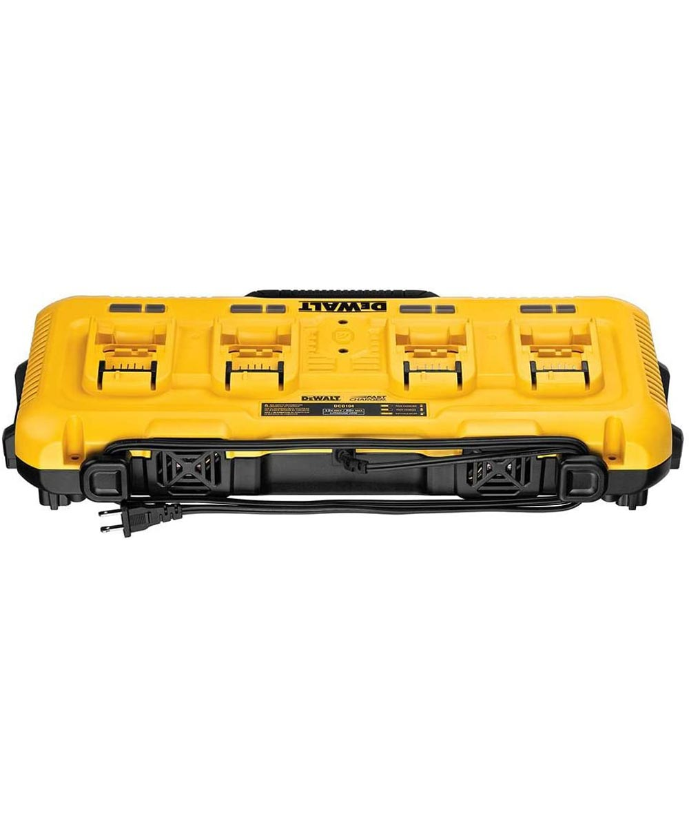 DEWALT 4 Port Simultaneous Battery Fast Charger