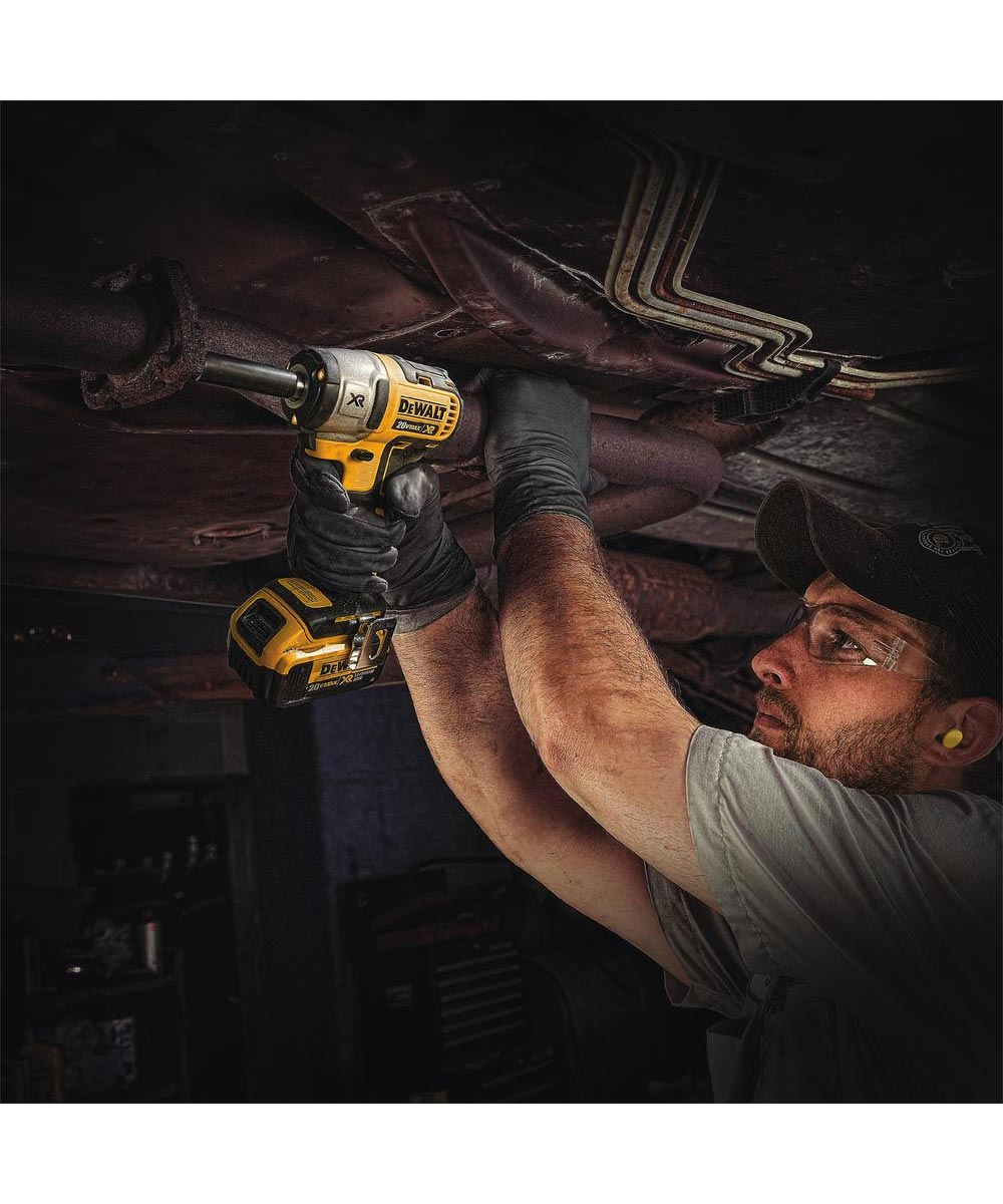 DEWALT 20V MAX* XR 3/8 in. Cordless Compact Impact Wrench, Tool Only (No Battery or Charger)