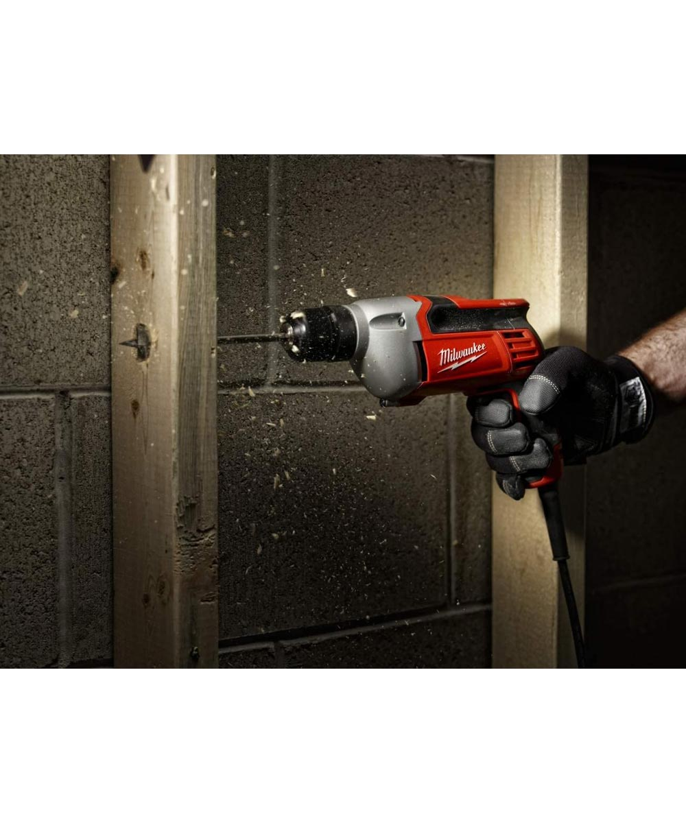 Milwaukee Heavy Duty 8 Amp 3/8 in. Corded Drill