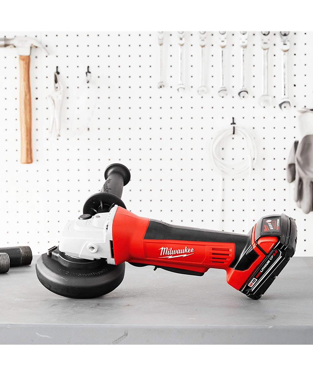Milwaukee M18 Cordless 4-1/2 in. Cut-Off / Grinder, Tool Only (No Battery or Charger)