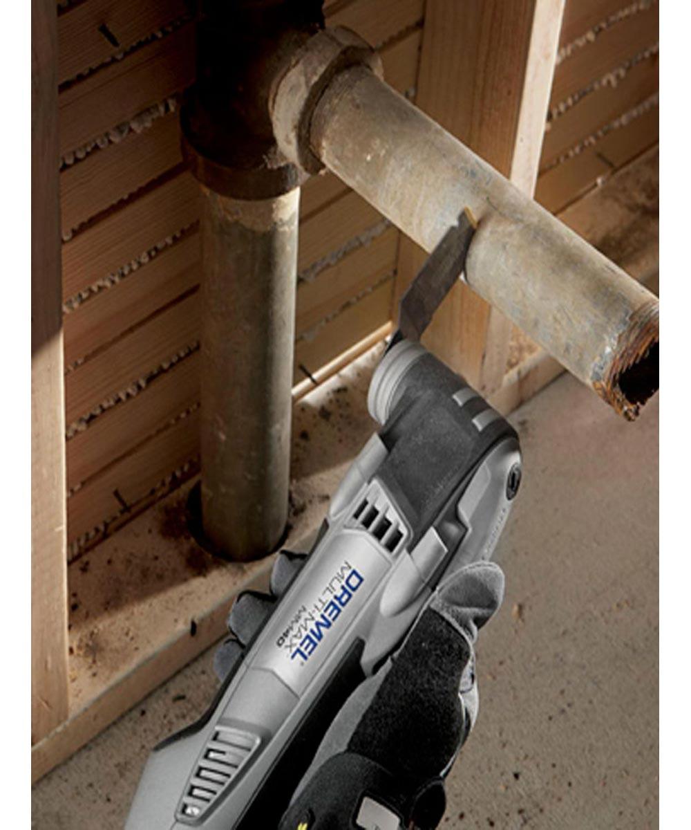 Dremel MM485 Multi-Max Universal Quick-Fit Carbide Flush Oscillating Cutting Blade, 3 Pack