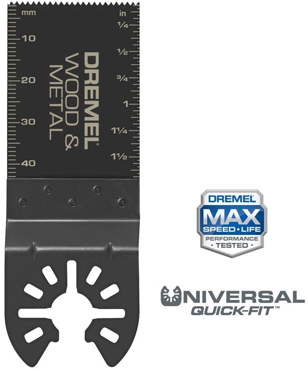 Dremel Multi-Max Universal Quick-Fit Wood & Metal Flush Oscillating Cutting Blade