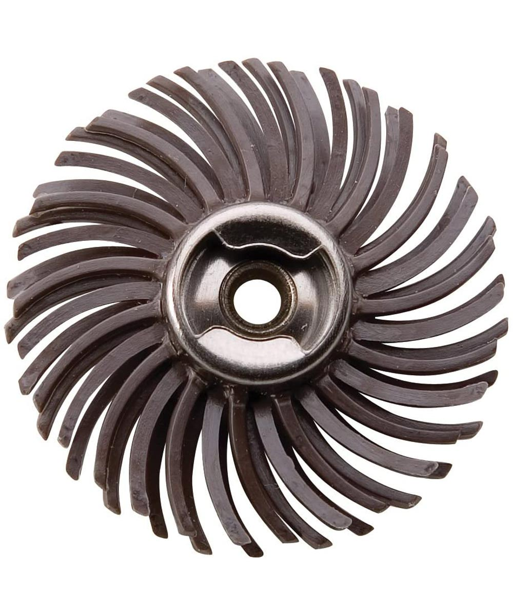 Dremel EZ471SA Rotary 36 Grit EZ Lock Detail Abrasive Brush for Metal, Wood, Glass, Aluminum, Plastic