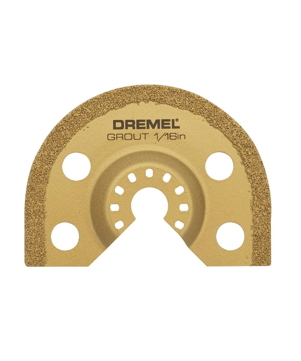Dremel MM500 Multi-Max Quick-Fit Oscillating 1/16 in. Grout Removal Blade