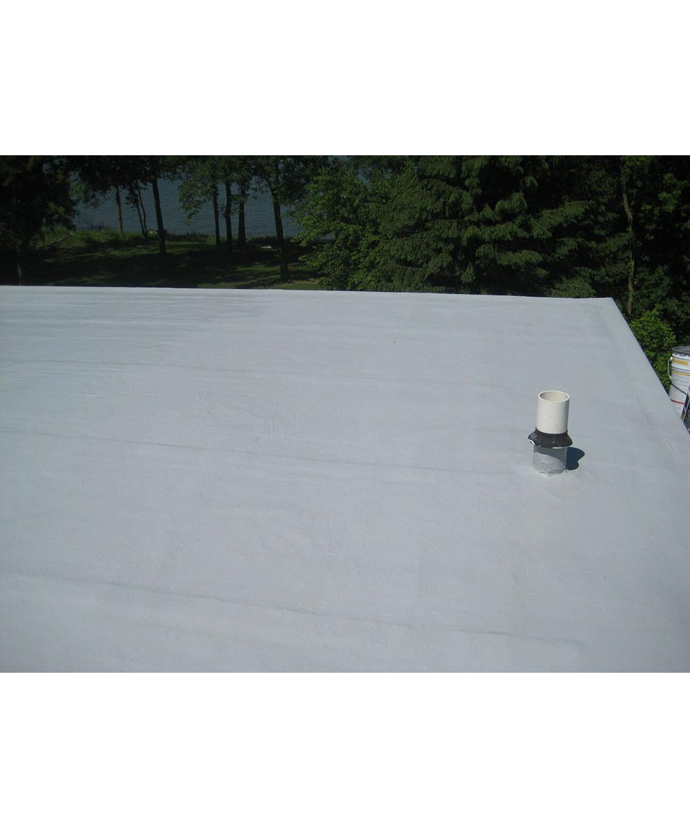 GacoRoof 1 Gallon White 100% Silicone Roof Coating