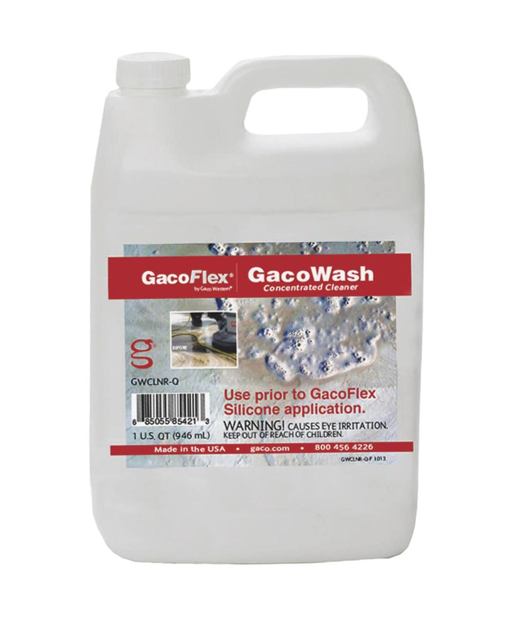 GacoWash 1 Quart Concentrated Cleaner for Silicone Roof Coating