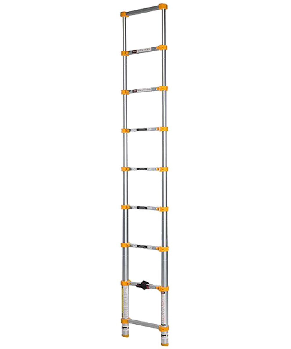 Xtend and Climb 8.5 ft. Telescoping Aluminum Extension Ladder, Type II 225 lb. Load