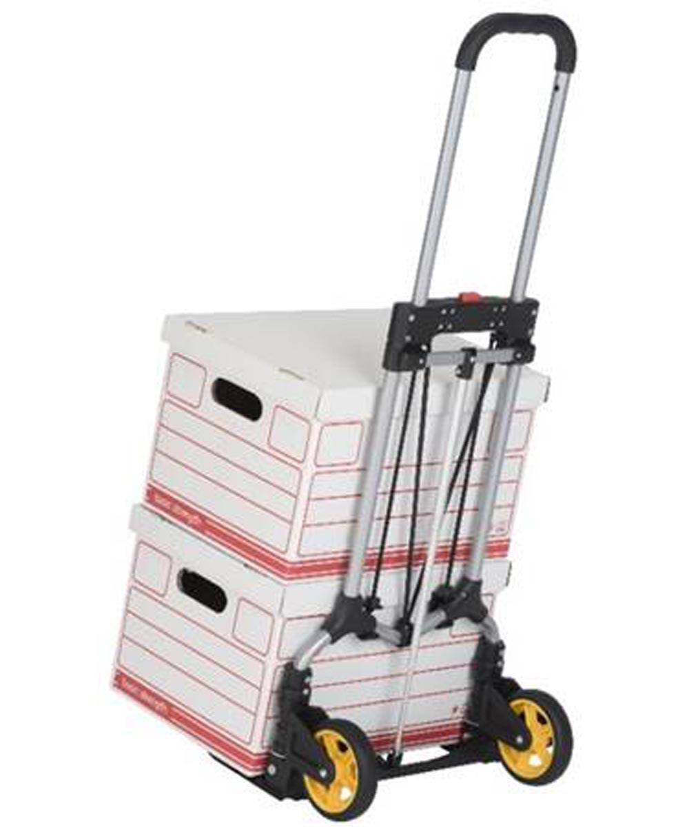 Magna Cart 160 lb. Capacity Folding Steel Personal Hand Truck