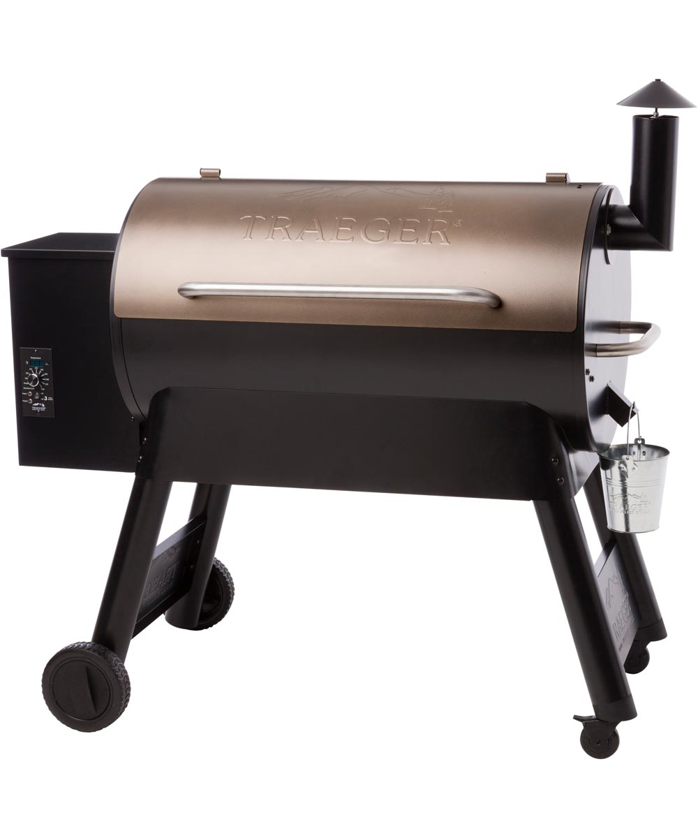 Pro Series 34 Pellet Grill and Smoker, Bronze