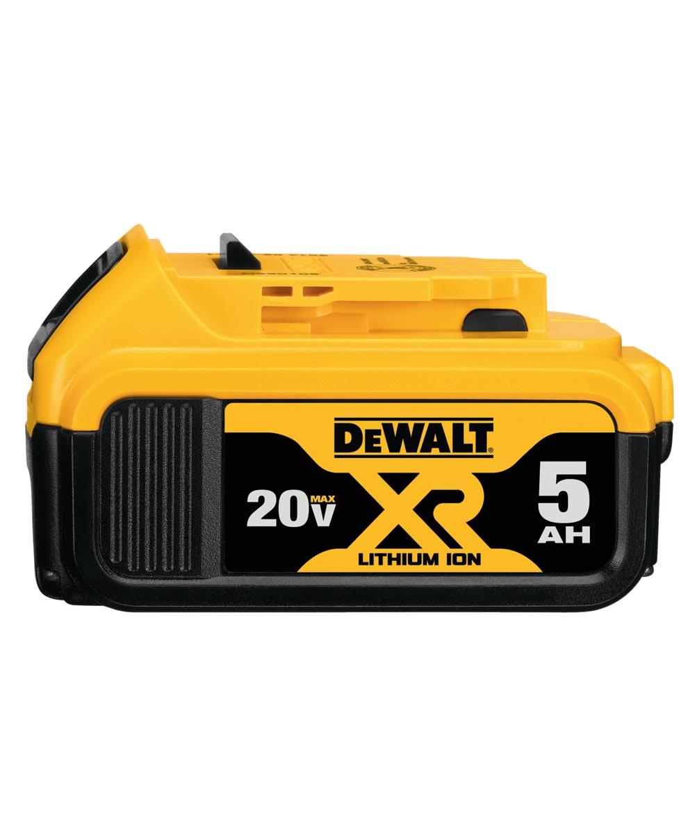 DEWALT 20V MAX* XR 5.0Ah Lithium Ion Battery Pack