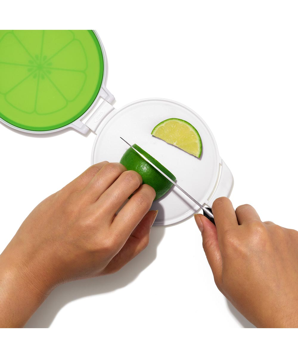 OXO Good Grips Cut and Keep Silicone Lime Saver
