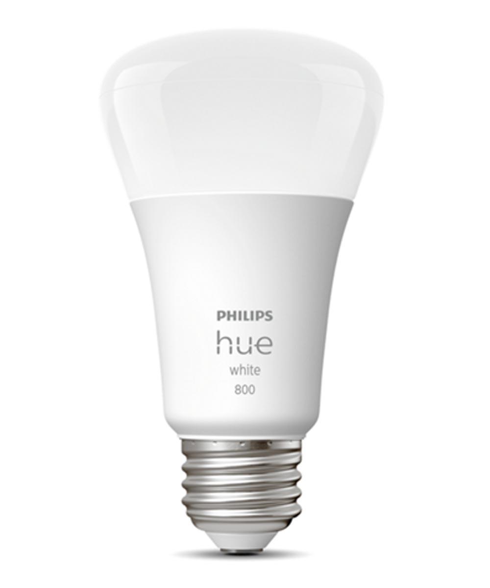 Philips Hue Warm White A19 LED Smart Bulb (Bluetooth / Zigbee / Alexa / Google Assistant Compatible)