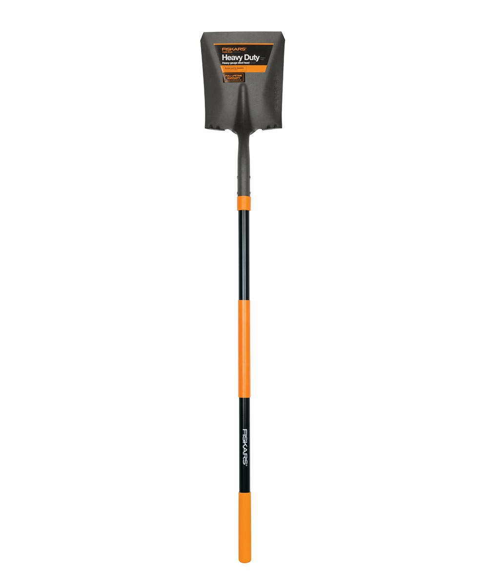 Fiskars 60 in. Fiberglass Transfer Shovel