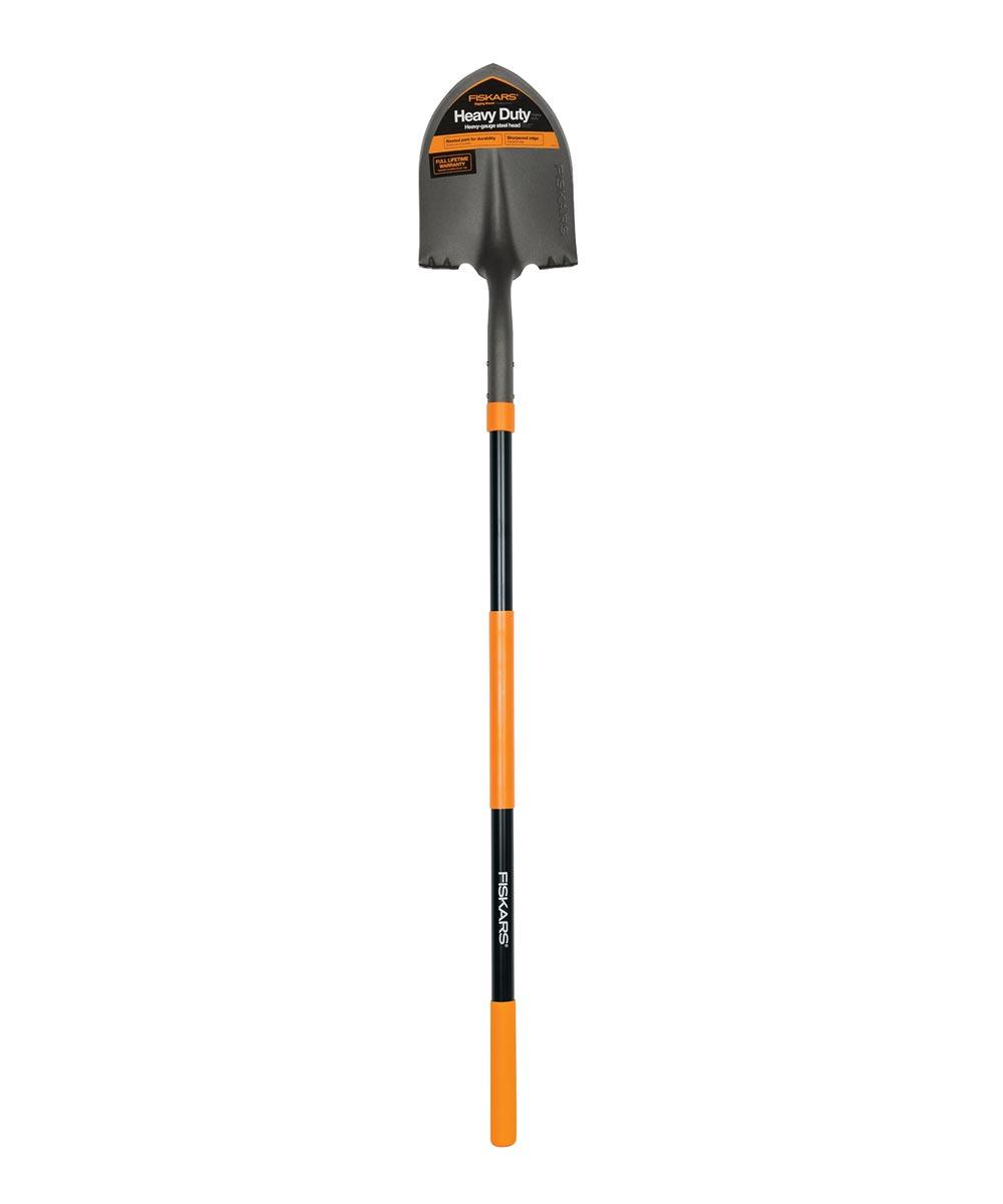 Fiskars 60 in. Fiberglass Digging Shovel
