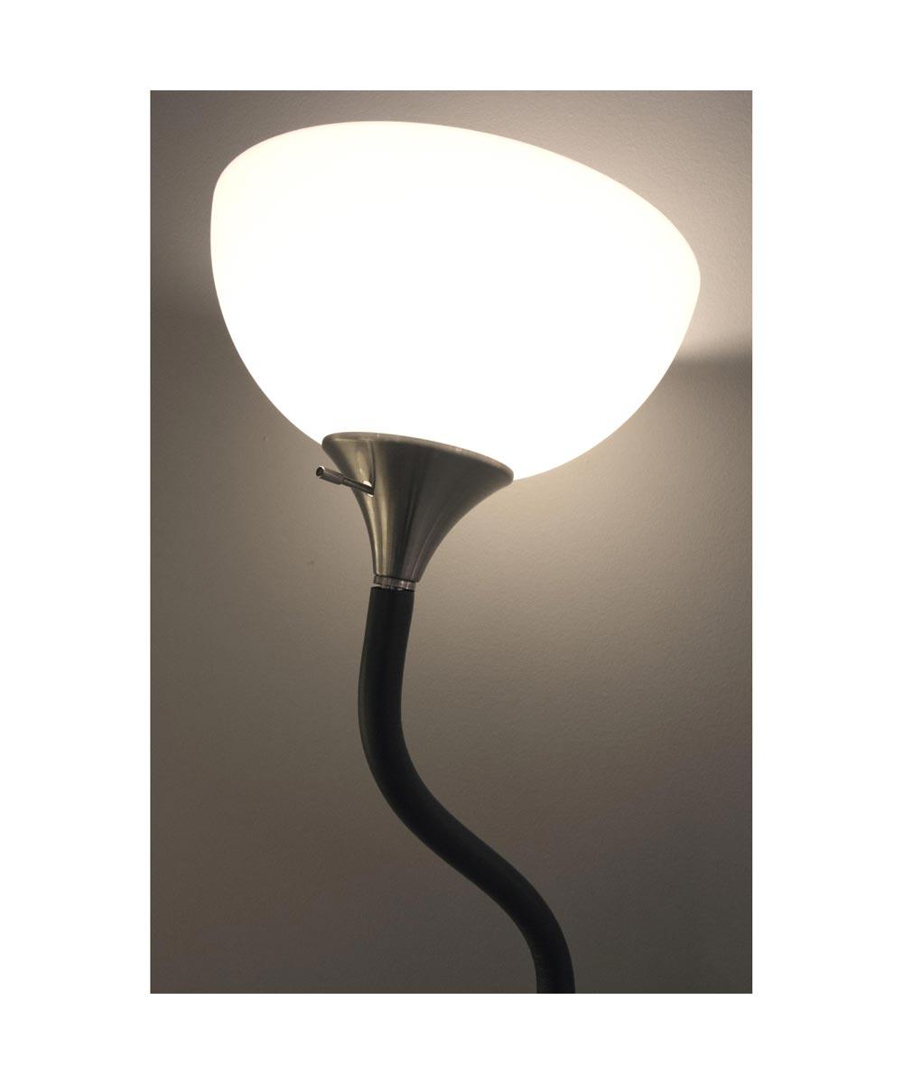Adesso Gander Torchiere Floor Lamp