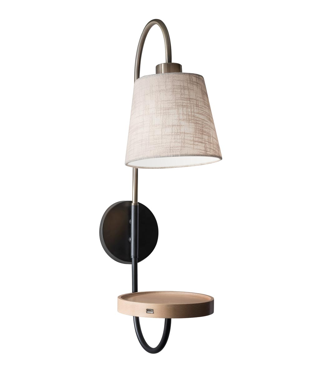 Adesso Jeffrey 25 in. Wall Lamp