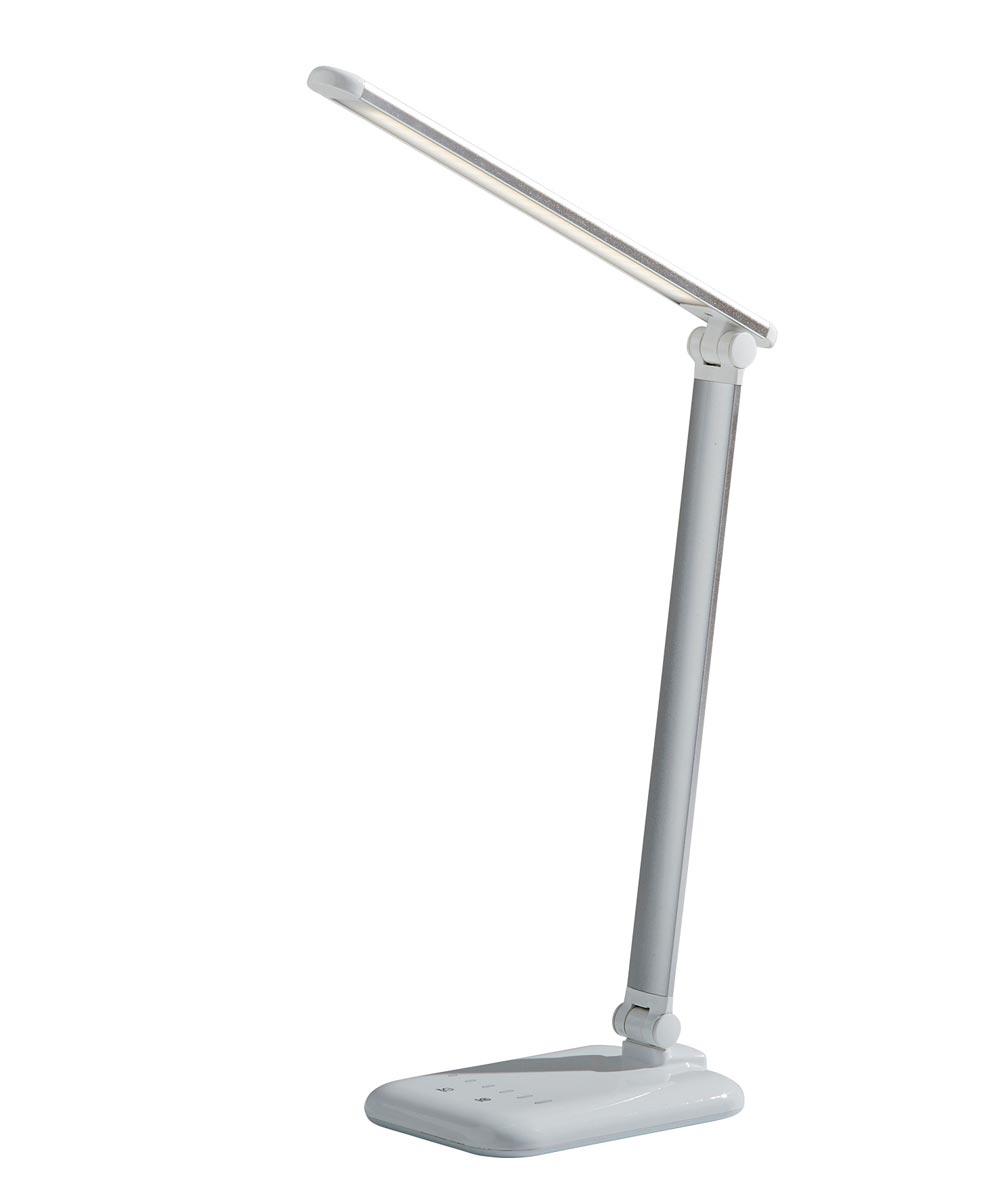Adesso Lennox LED Desk Lamp, White