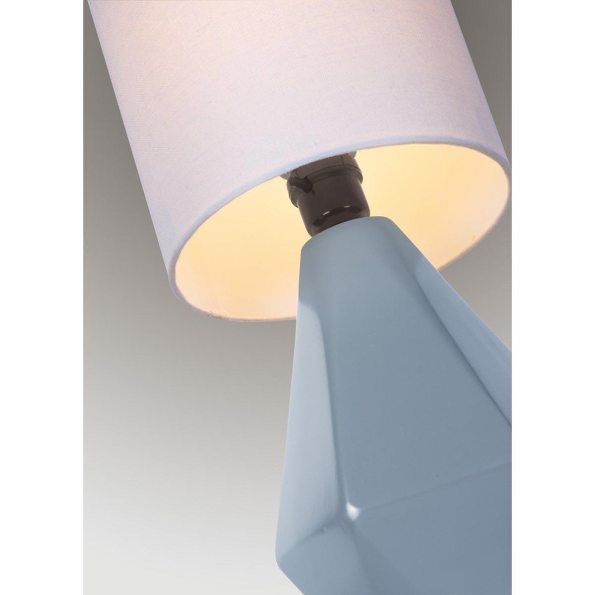 Mason Table Lamp, Gray
