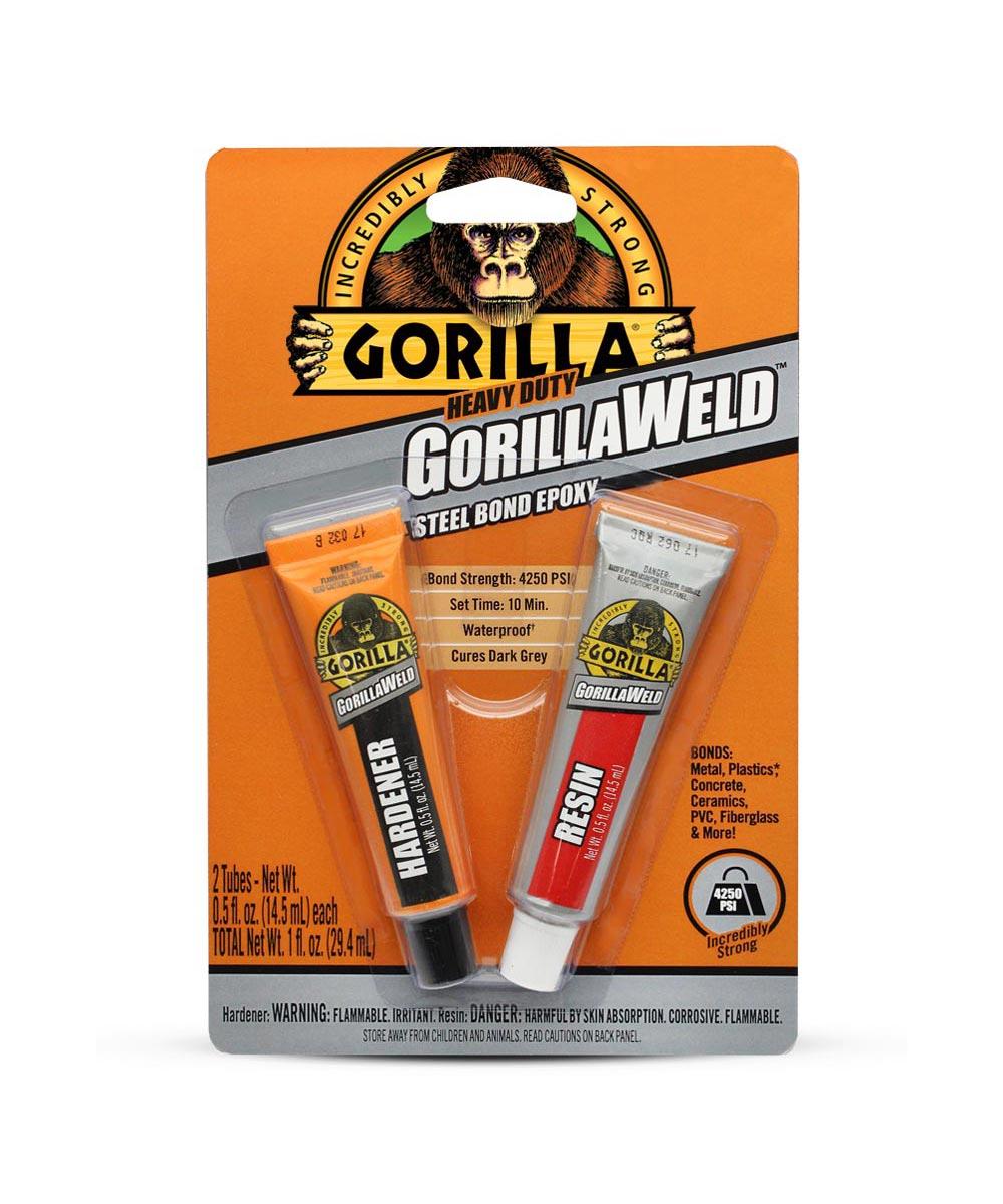 Gorilla Heavy Duty GorillaWeld Steel Bond Epoxy