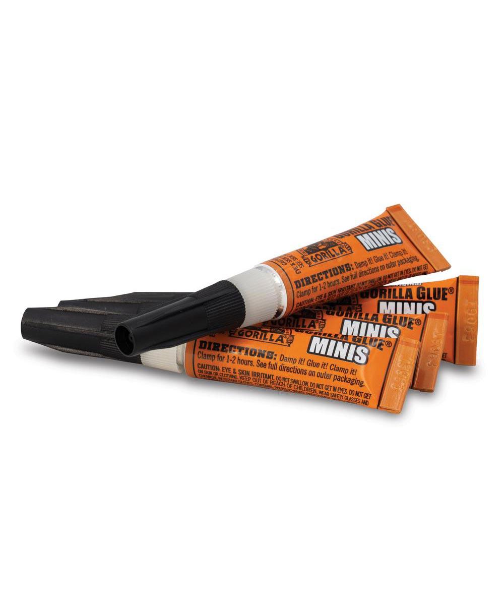 Gorilla Original Glue Minis, 4 Tube Pack, 3 grams
