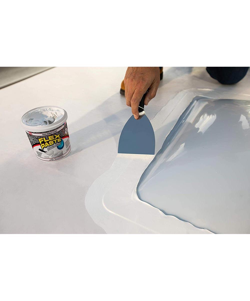 1 lb. Waterproof Flex Paste, White